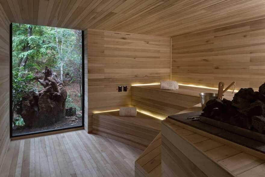 sauna / Luciano Gerbilsky Arquitectos
