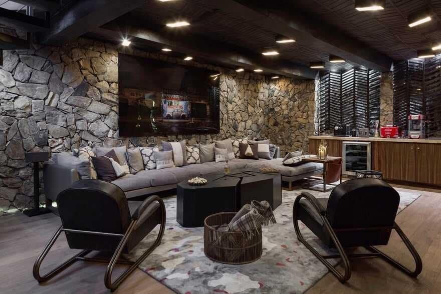 living room / Luciano Gerbilsky Arquitectos