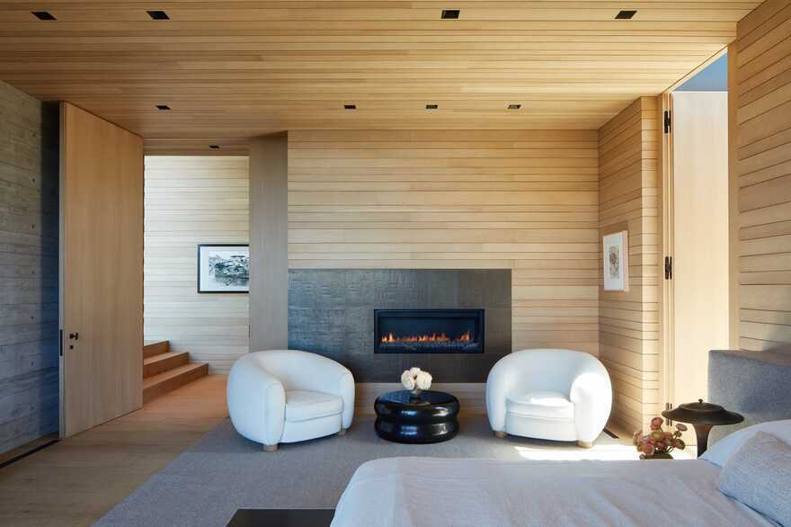 bedroom, Abramson Architects
