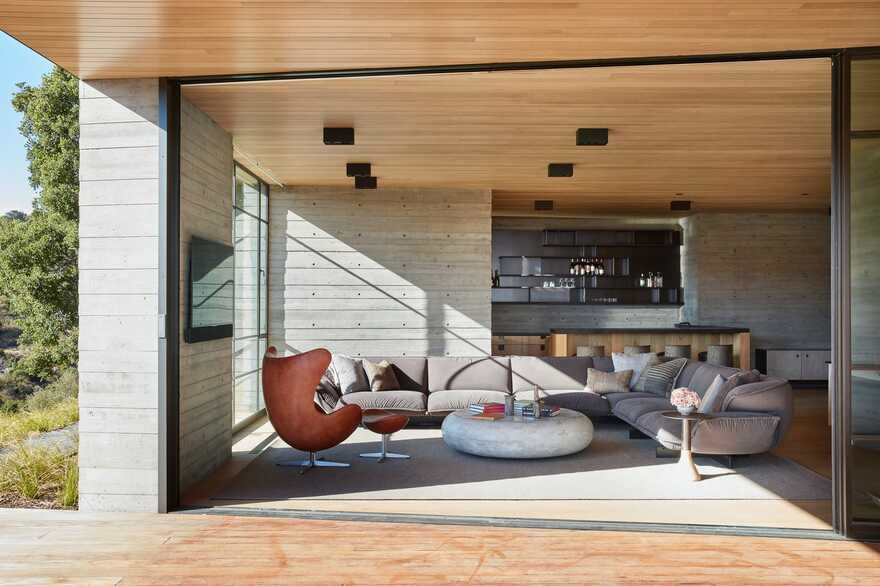 living room, Abramson Architects