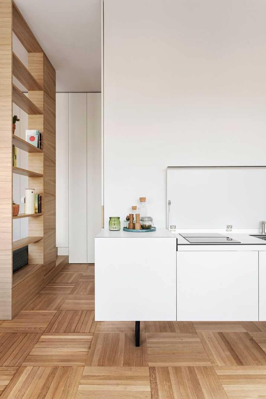 Single Room, Five Places / Tommaso Giunchi Architect