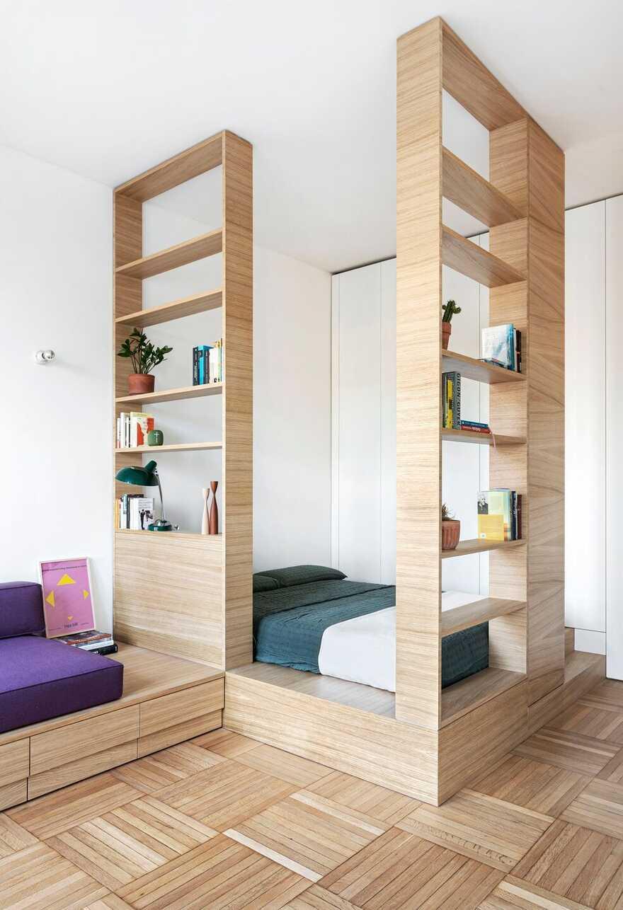 bed / Tommaso Giunchi Architect