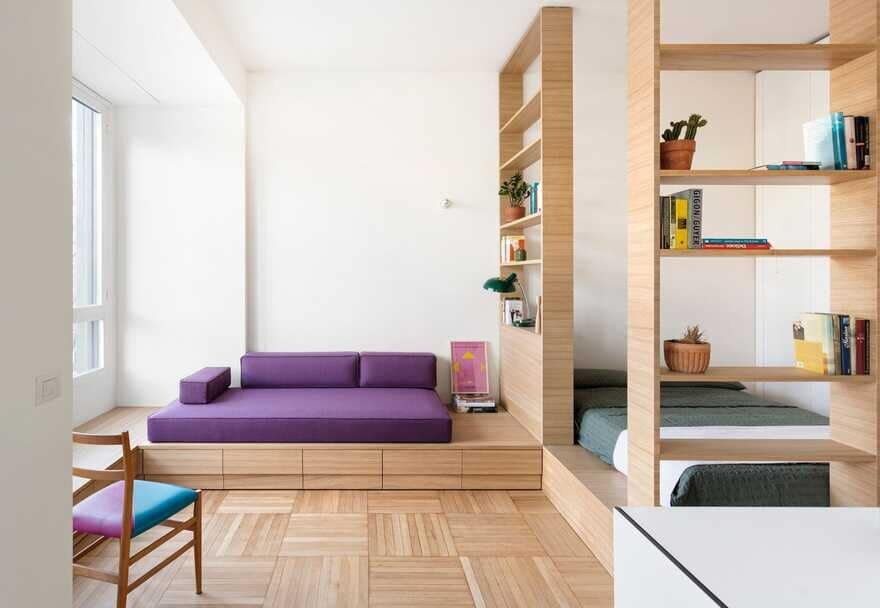 Single Room, Five Places / Tommaso Giunchi Architect