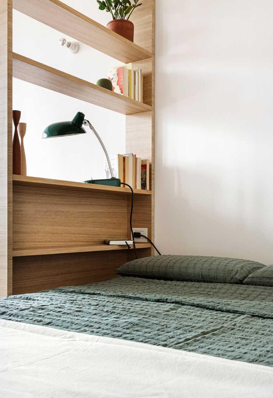 bedroom / Tommaso Giunchi Architect