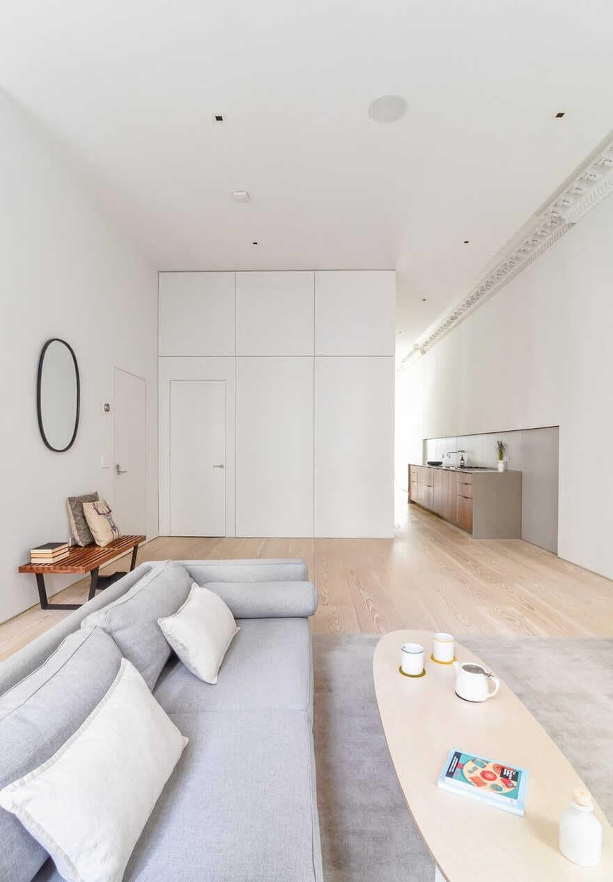 Minimal Modern Flatiron Apartment