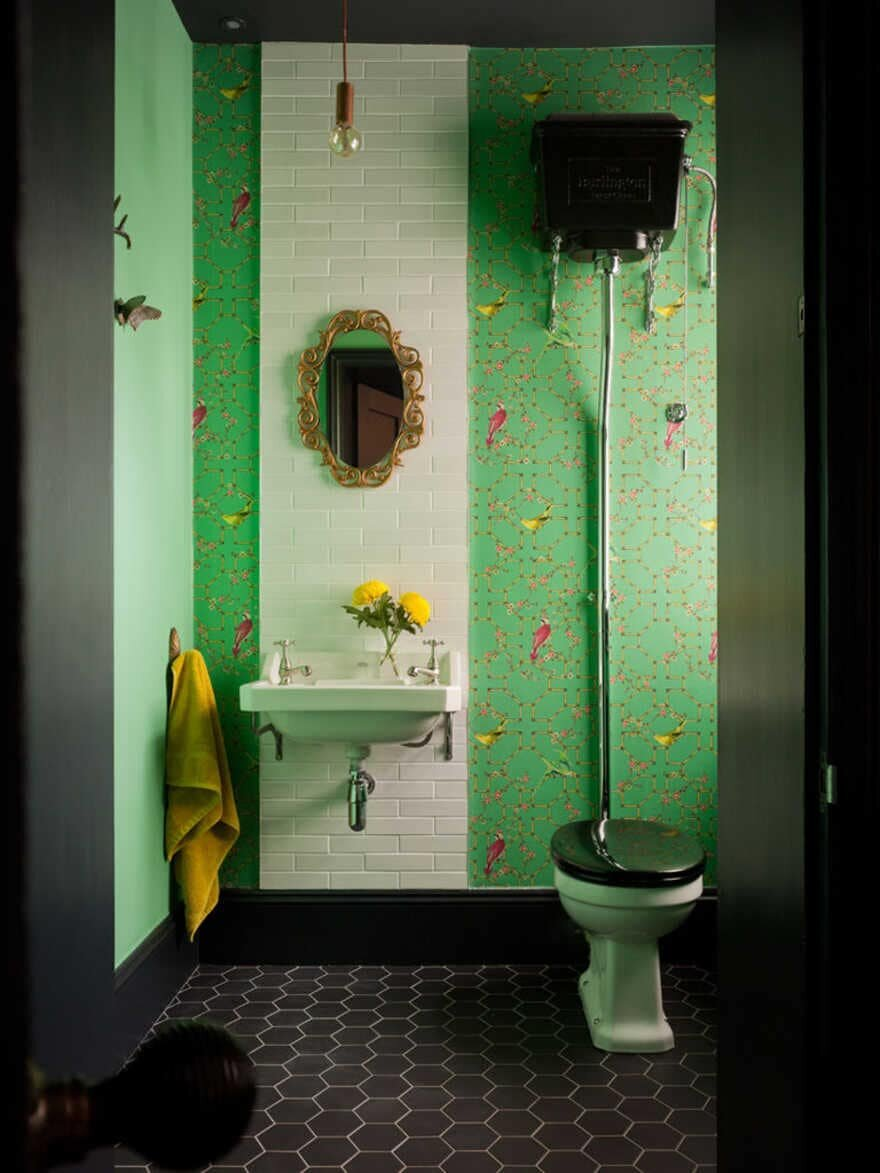 bathroom, The Vawdrey House