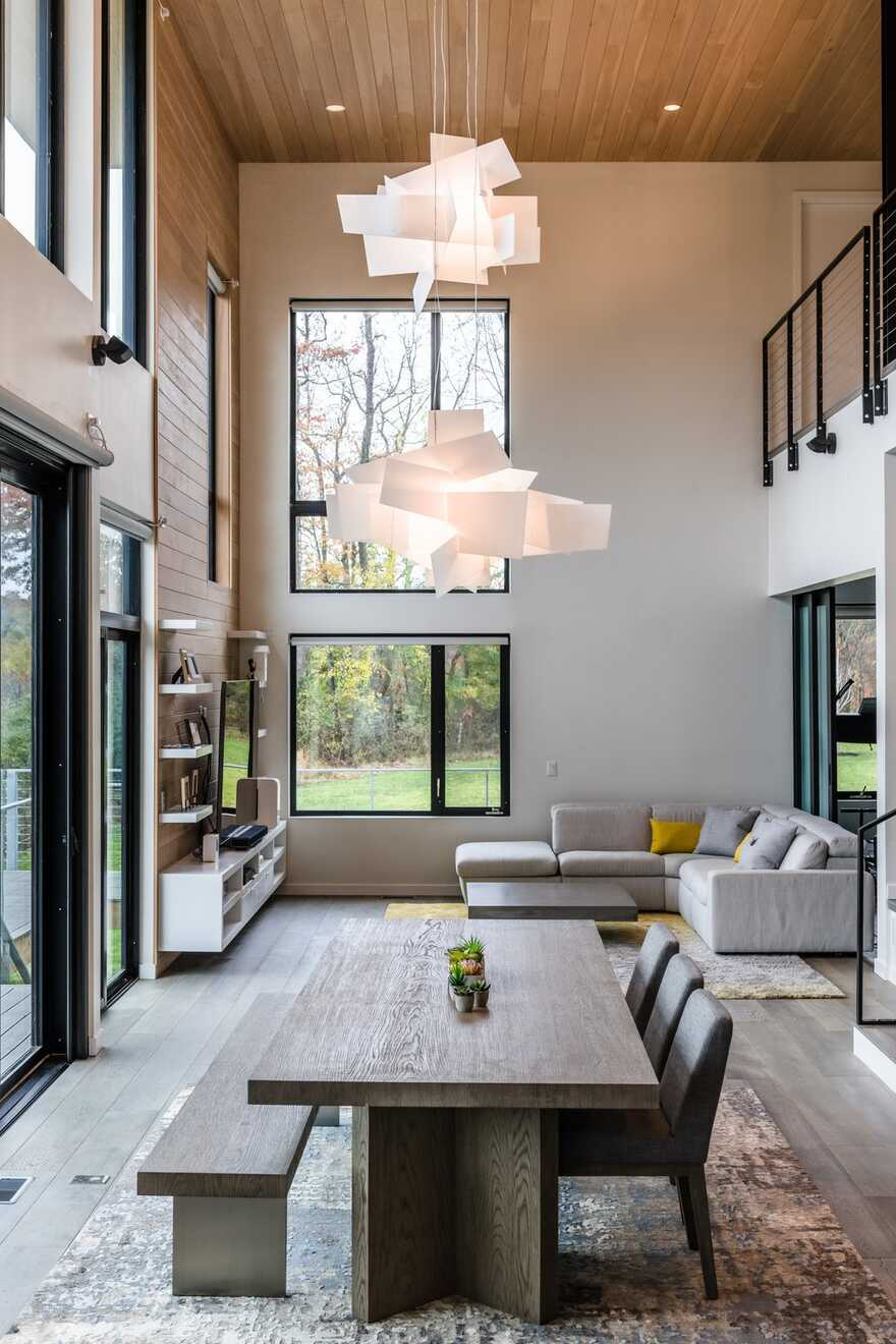 Light-Filled Alternative to a Traditional Suburban Residence
