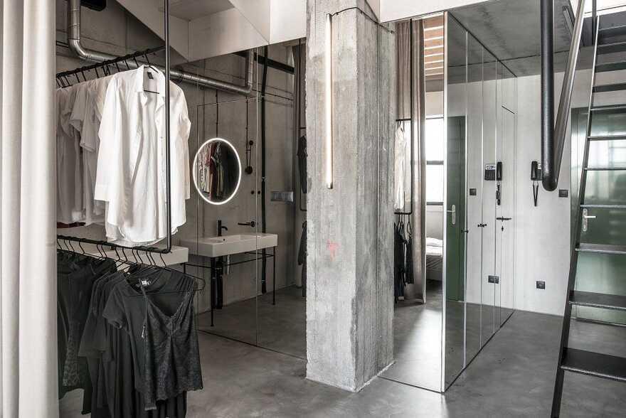 Two-Story Industrial Loft in Bratislava