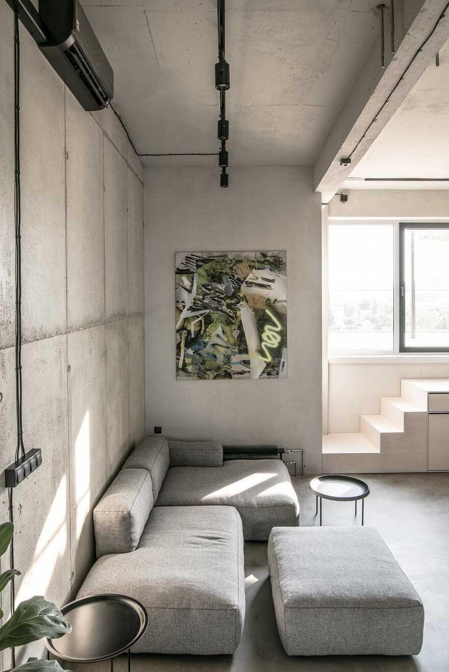 living room, Juraj Hubinský + Kuklica x Smerek Architekti