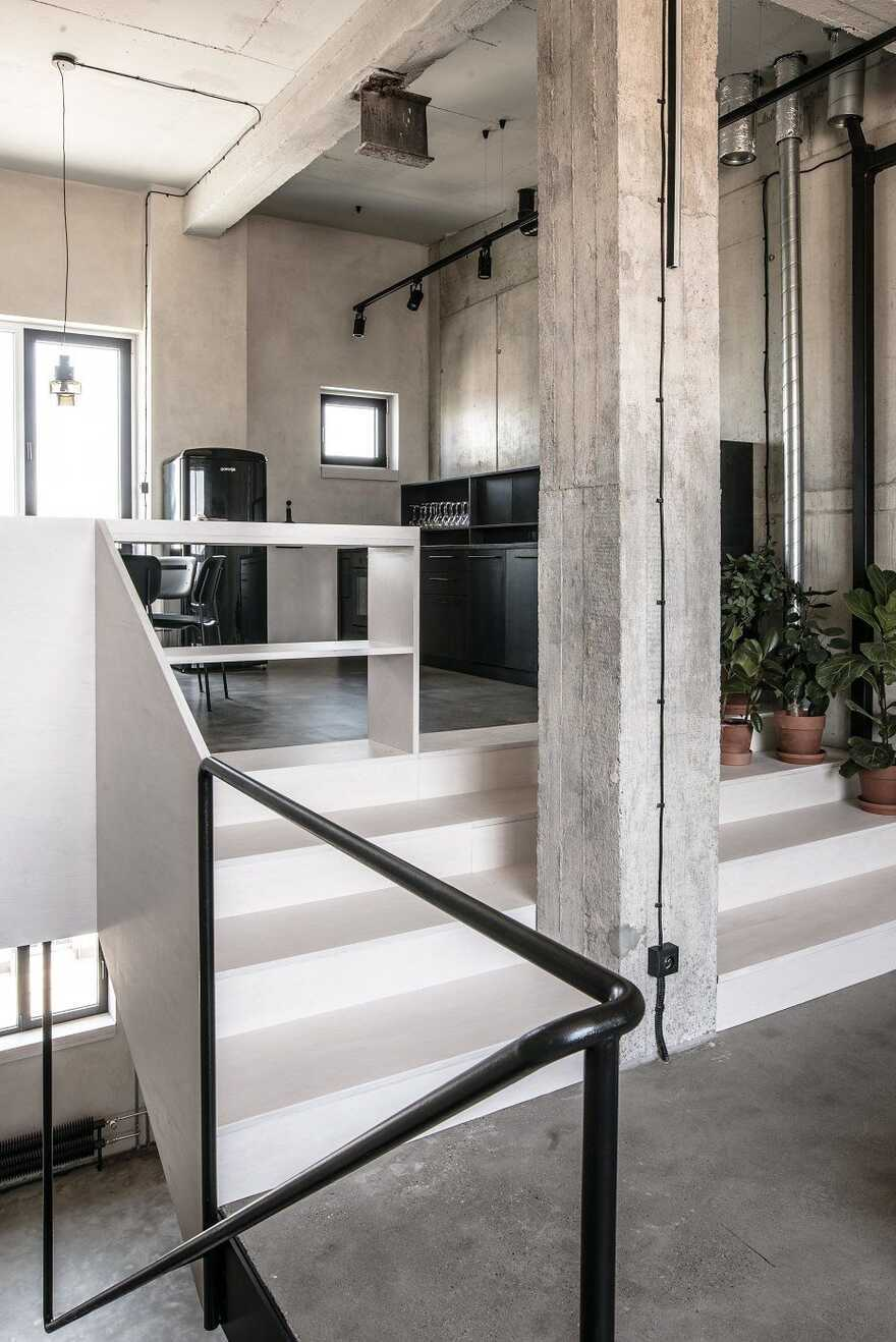 industrial style, Juraj Hubinský + Kuklica x Smerek Architekti