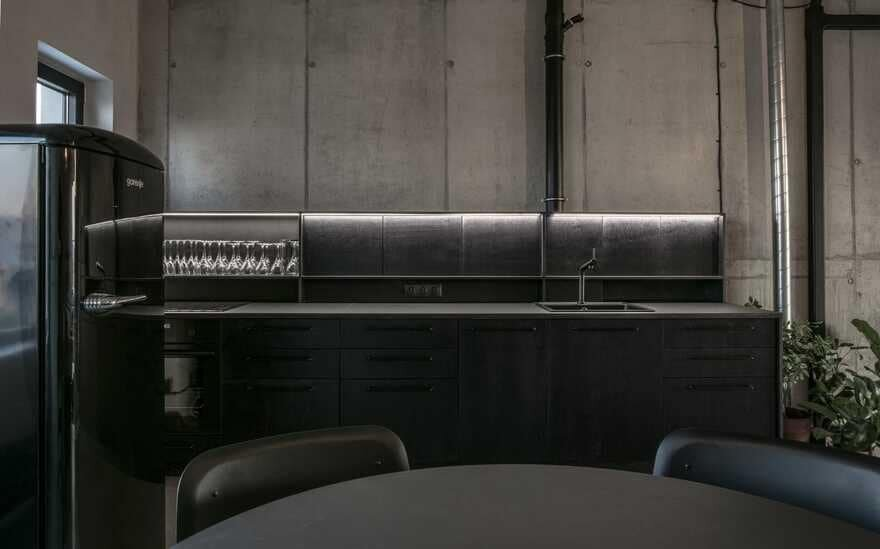 kitchen, Juraj Hubinský + Kuklica x Smerek Architekti