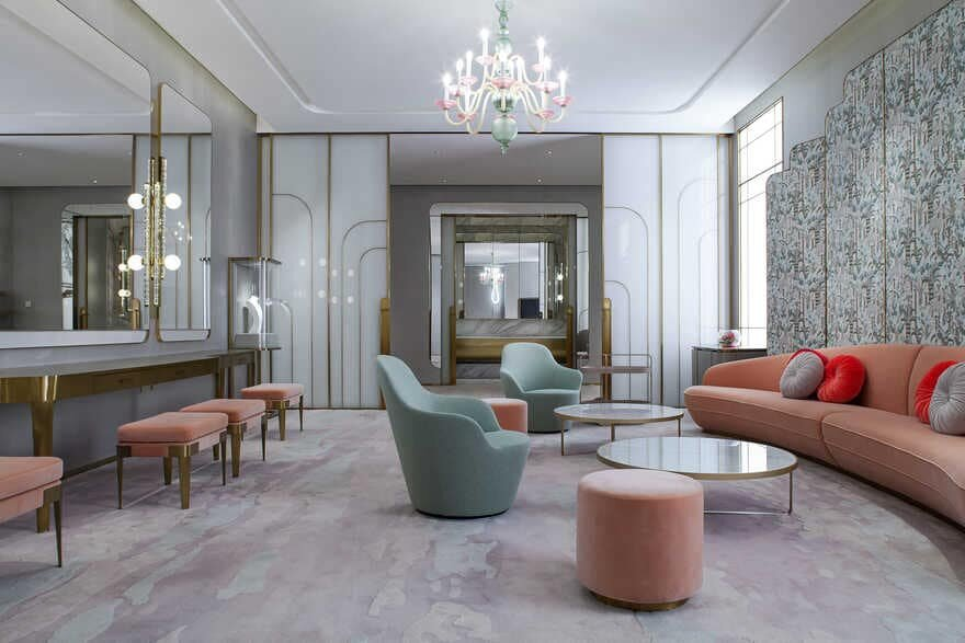 interiors Nina Bridal Suite / CL3 Architects Limited