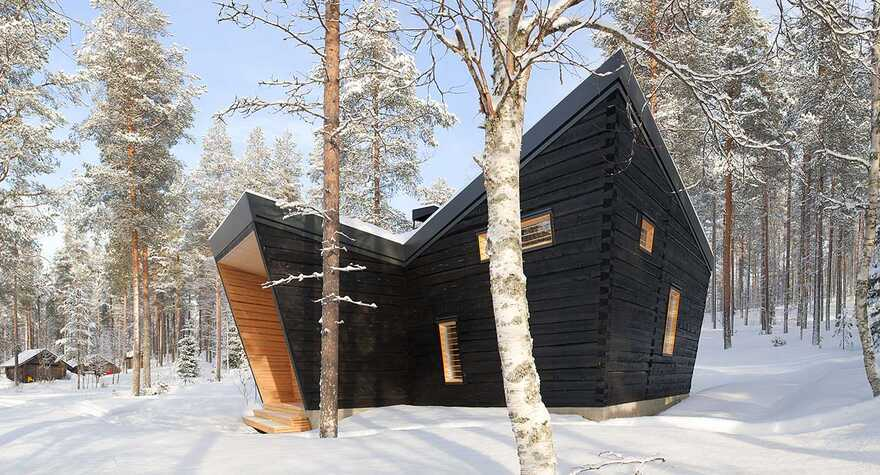 Arctic Sauna Pavilion / Toni Yli-Suvanto Architects