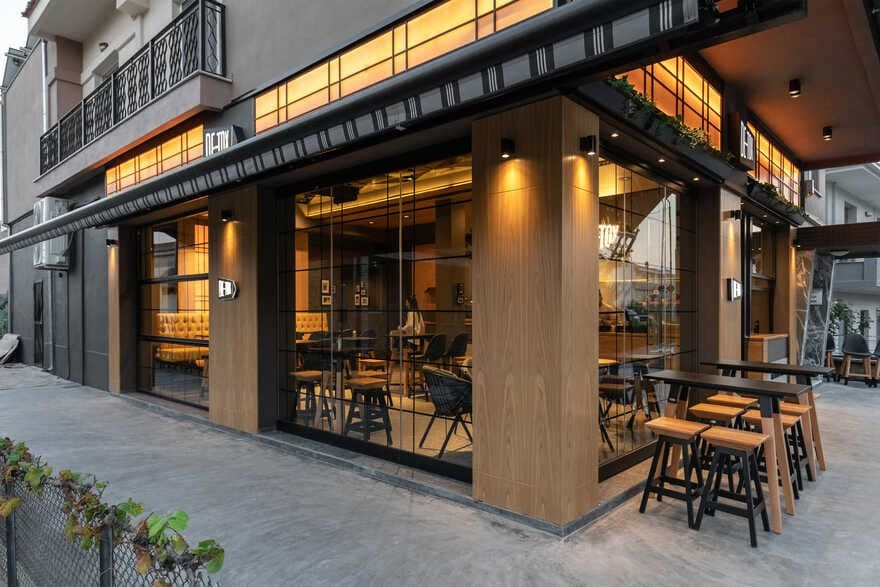 De-Tox Cafe, Trikala, Greece / Lab4 architects