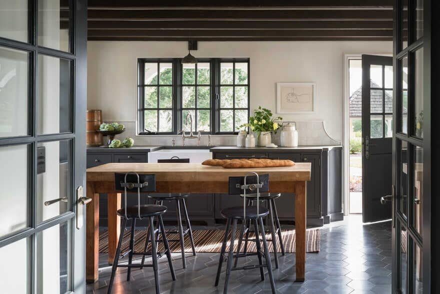 kitchen, dining room / Jessica Helgerson Interior Design