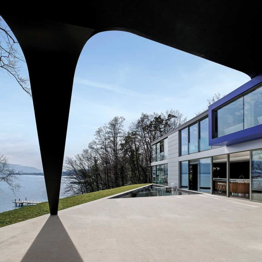 Family Home and Office on the Banks of Lake Geneva