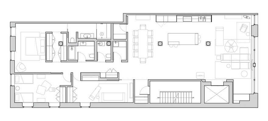plan, Worrell Yeung Architecture