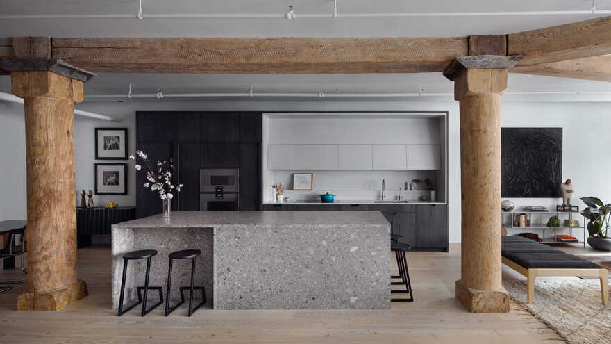 kitchen, Worrell Yeung Architecture