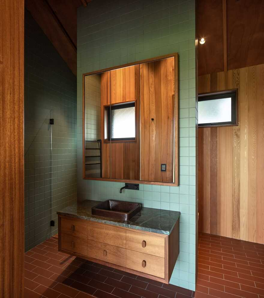 bathroom / Belinda George Architects