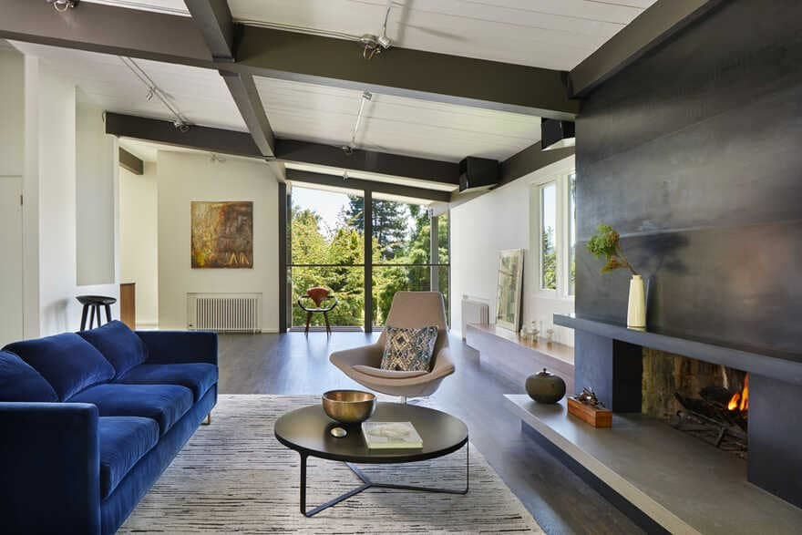 The Starling's Nest Residence, Seattle, Washington...a Mid-Century House Renovation