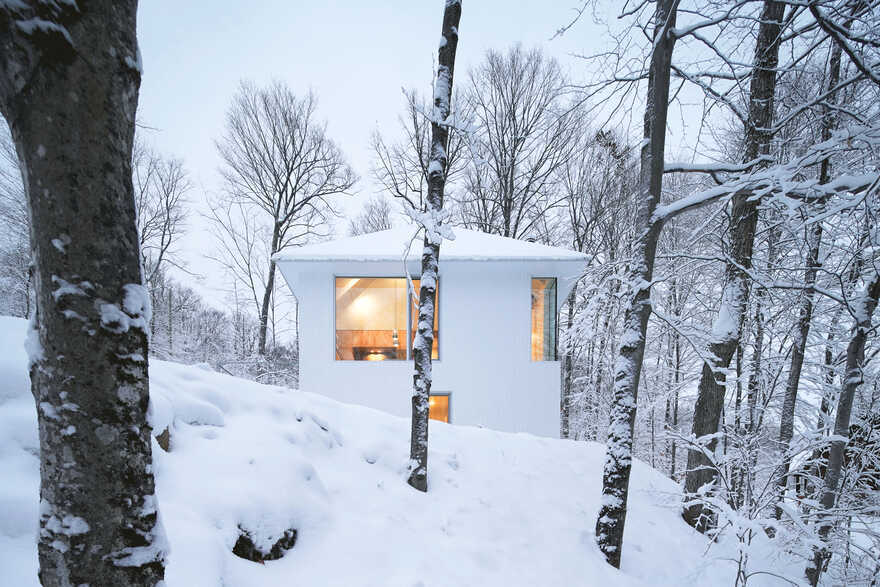 Poisson Blanc Chalet / Naturehumaine Architects