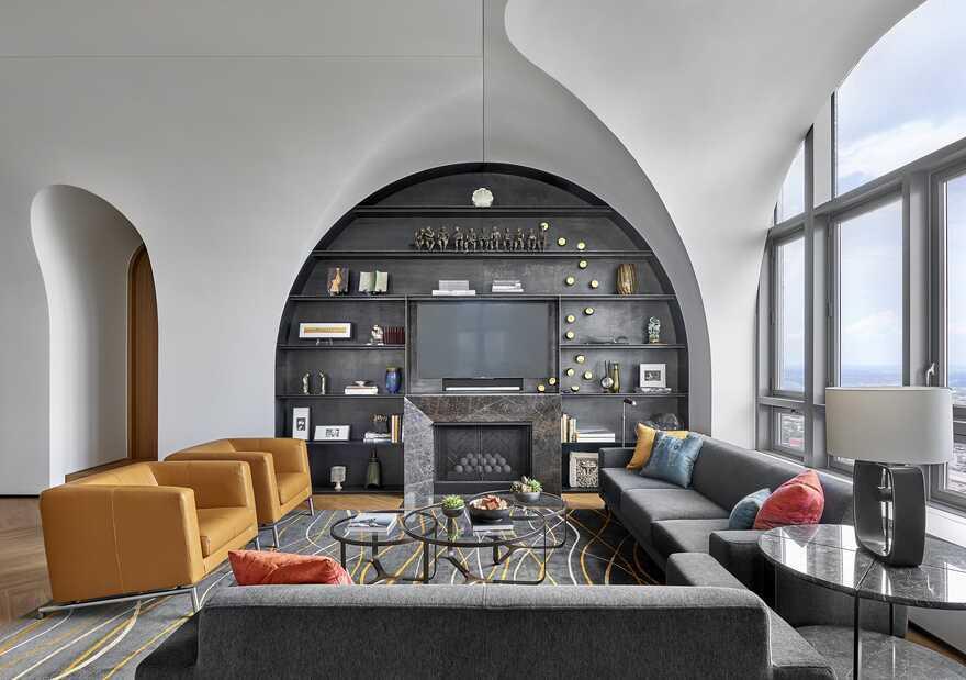 Sky Vault Penthouse, Chicago / dSPACE Studio