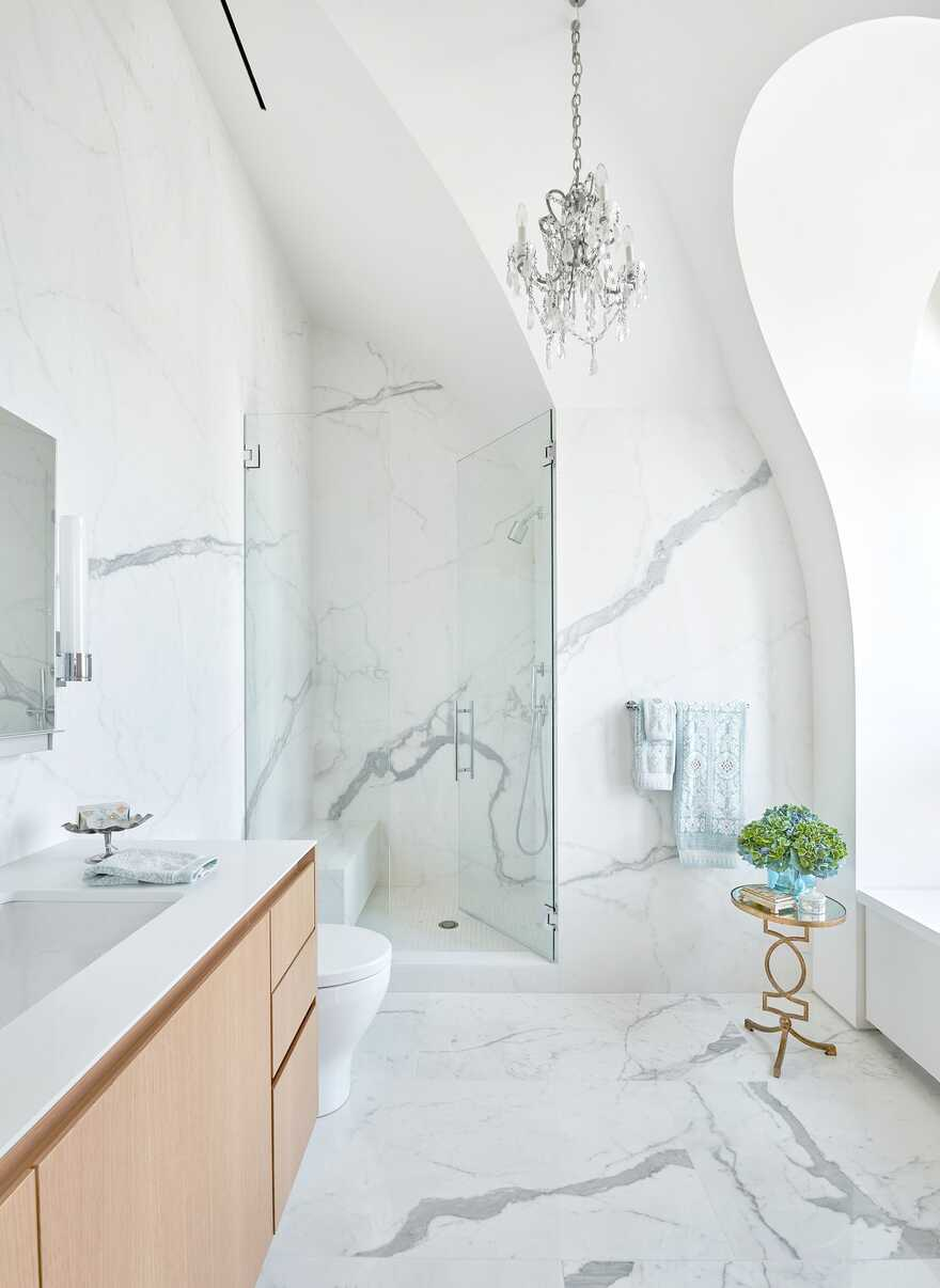 bathroom, Chicago / dSPACE Studio