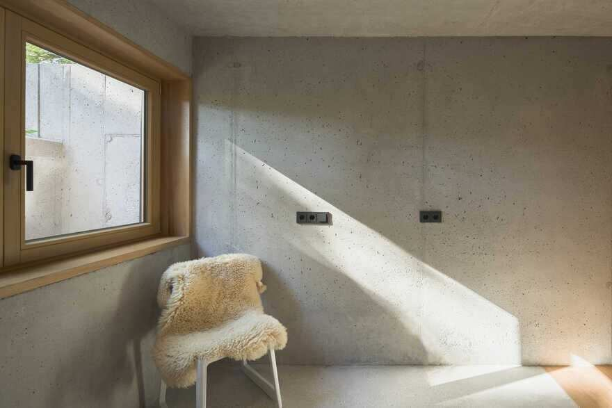 concrete structure, German Architect Studio Buero Wagner