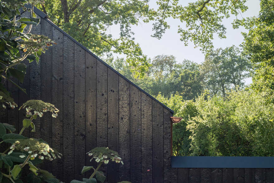 Small Black House by German Architect Studio Buero Wagner