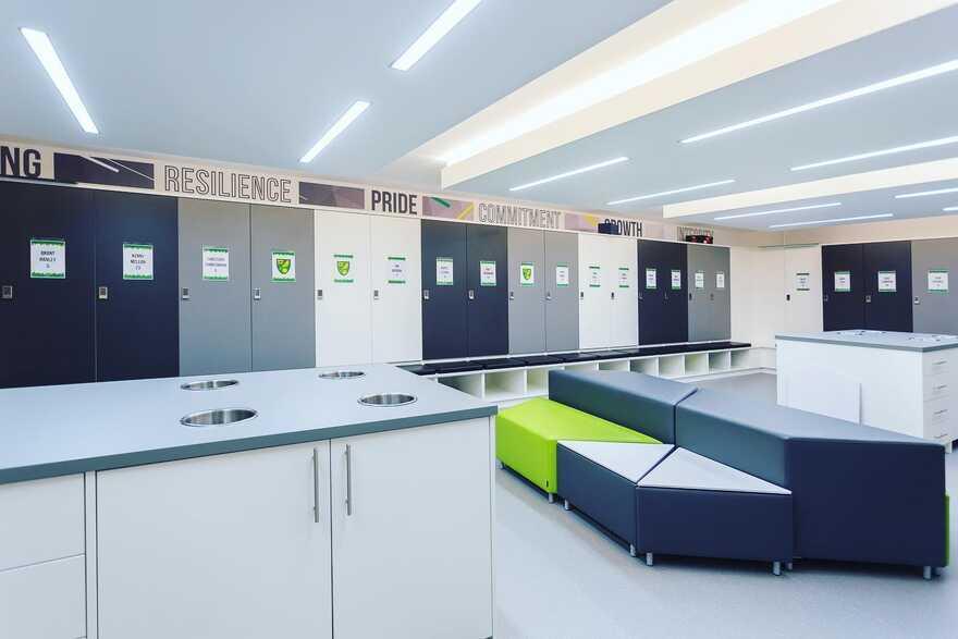 Norwich City Football Club & Colney Training Centre Transformation