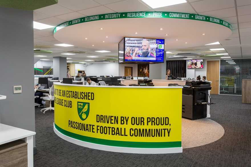 Norwich City Football Club & Colney Training Centre Transformation