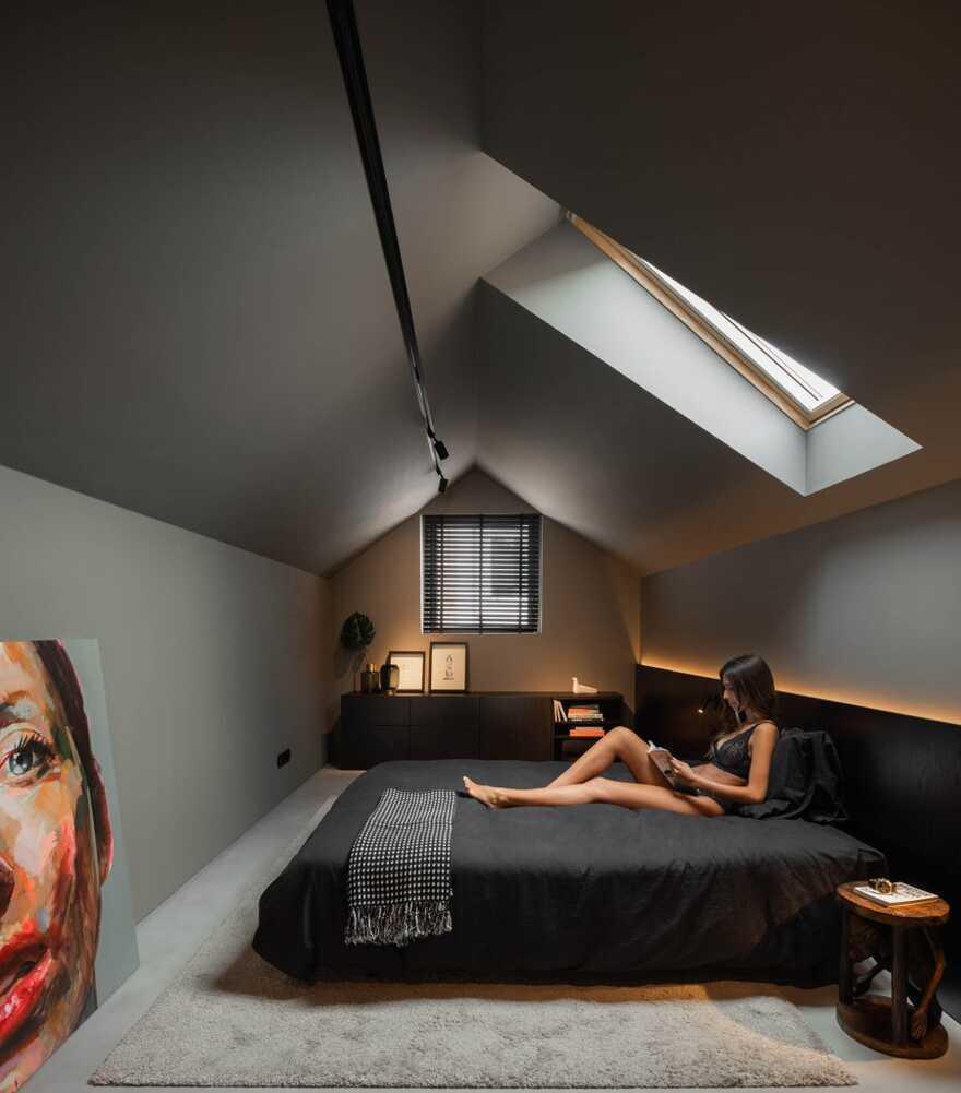 bedroom, Architect Paulo Martins