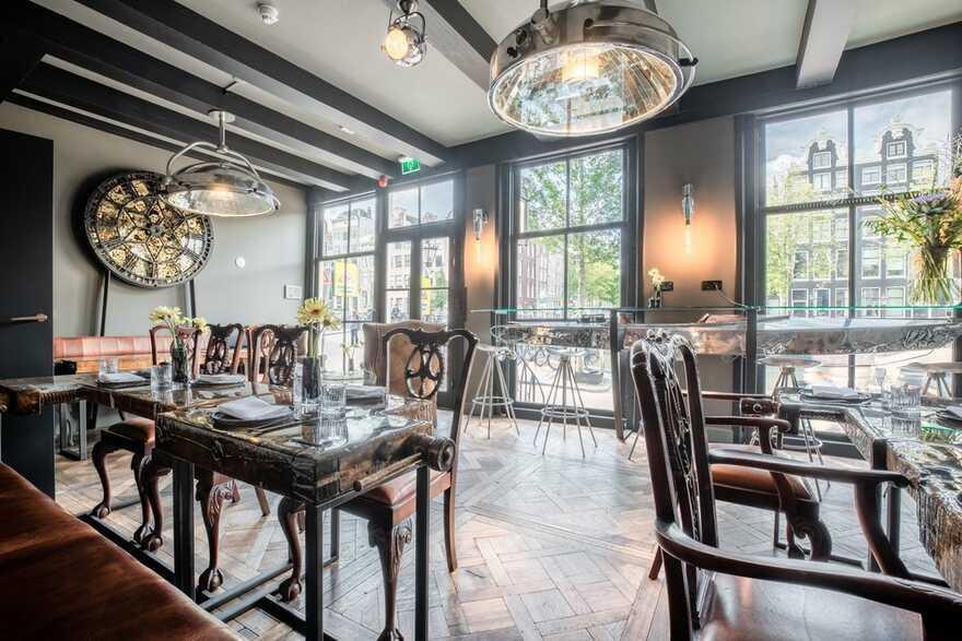 restaurant in Amsterdam