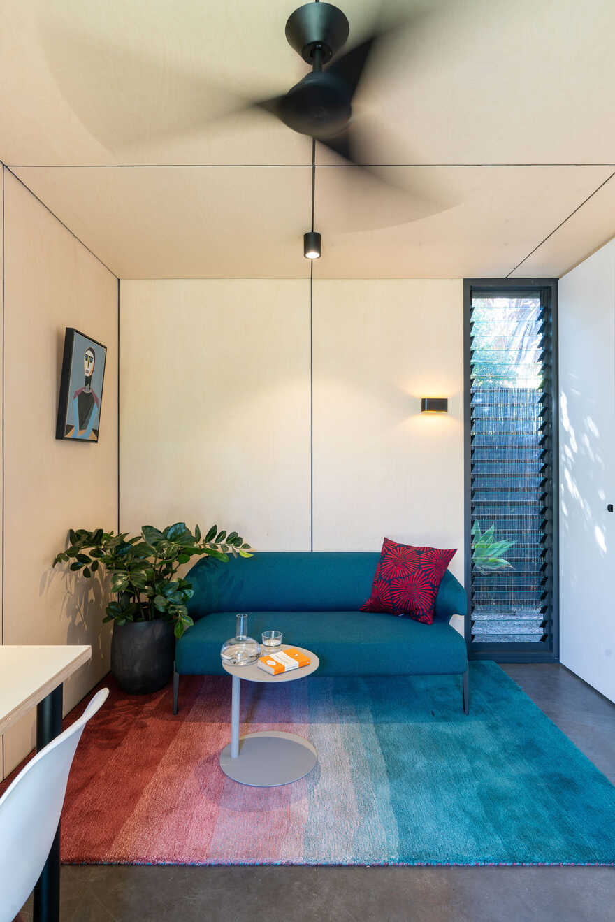 living space, Tiny House by Kreis Grennan Architecture