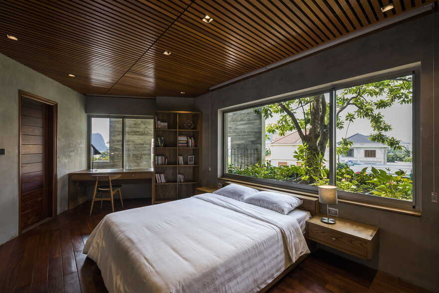 bedroom / Vo Trong Nghia Architects