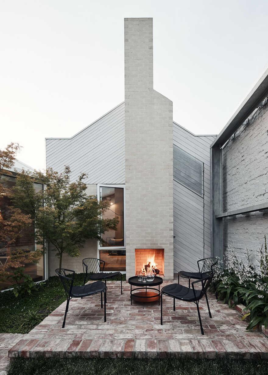 fireplace / Austin Maynard Architects