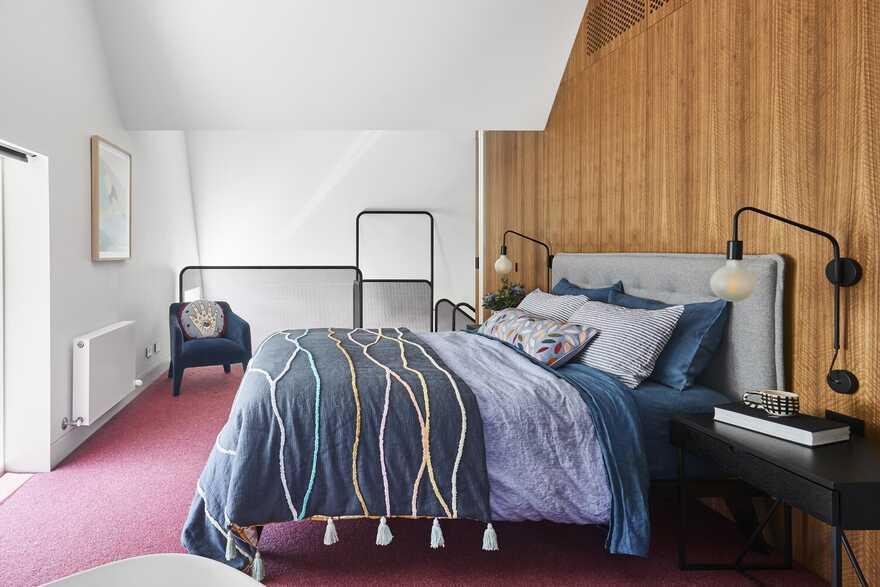 bedroom, Austin Maynard Architects