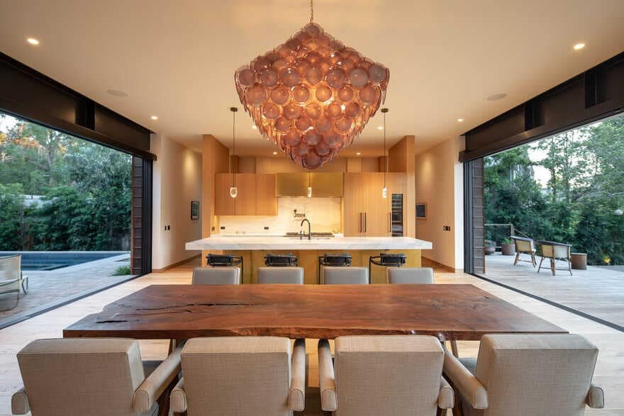 dining room, Conner + Perry Architects