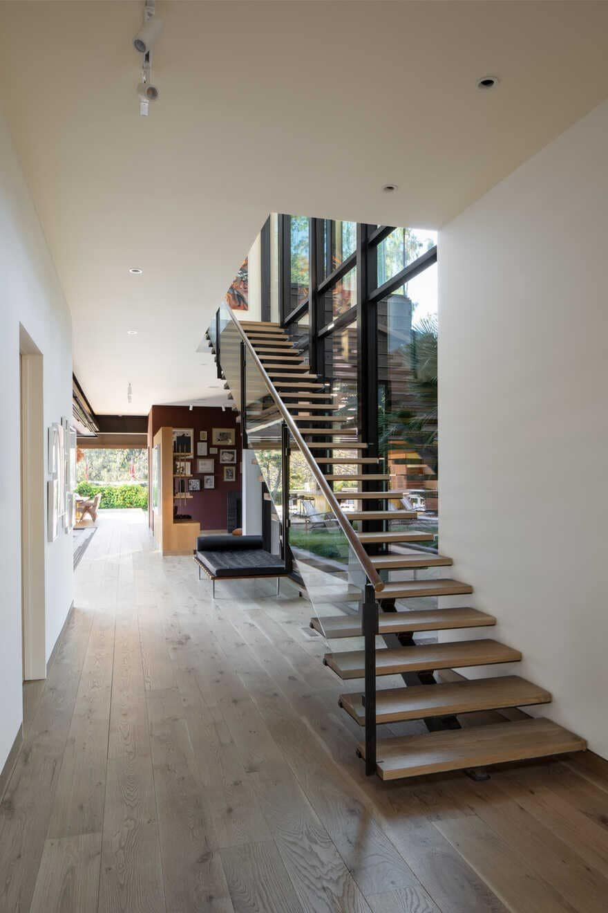 staircase, Conner + Perry Architects
