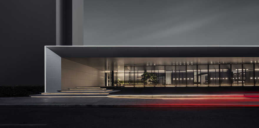 """The """"Jin """" Life Aesthetics Hall of Greentown's Magnificent Residence, Hangzhou, China"""