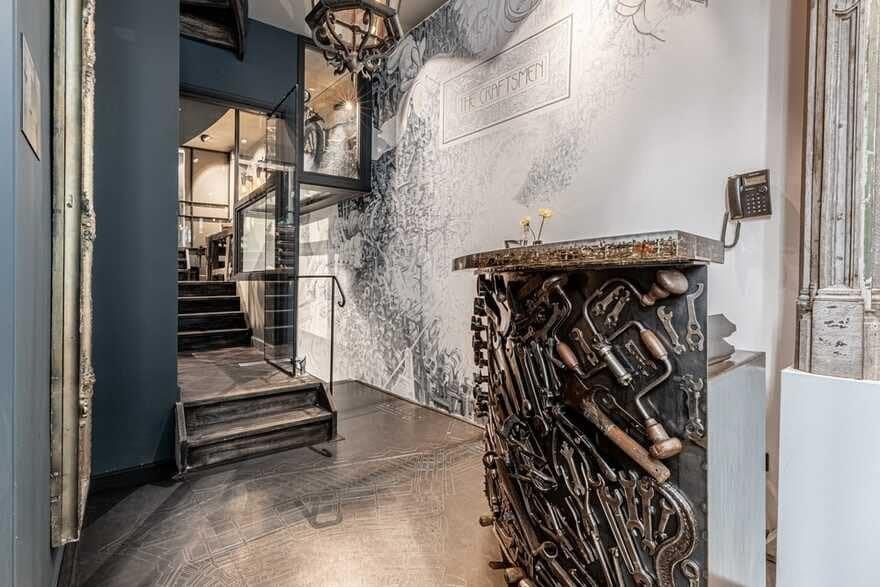 reception area, Amsterdam