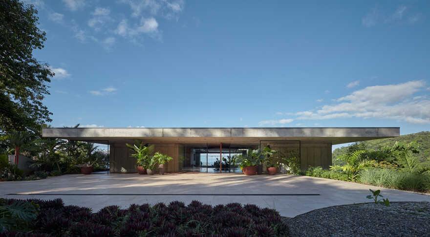 Art Villa On A Hillside Over The Pacific Ocean Costa Rica