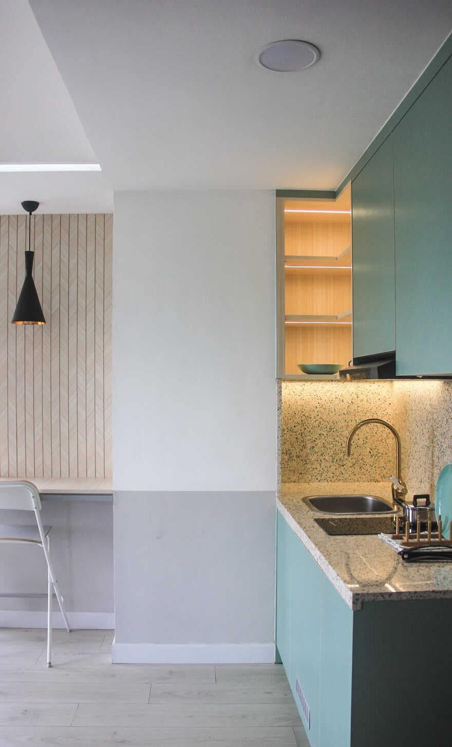 kitchen, Co+in Collaborative Lab