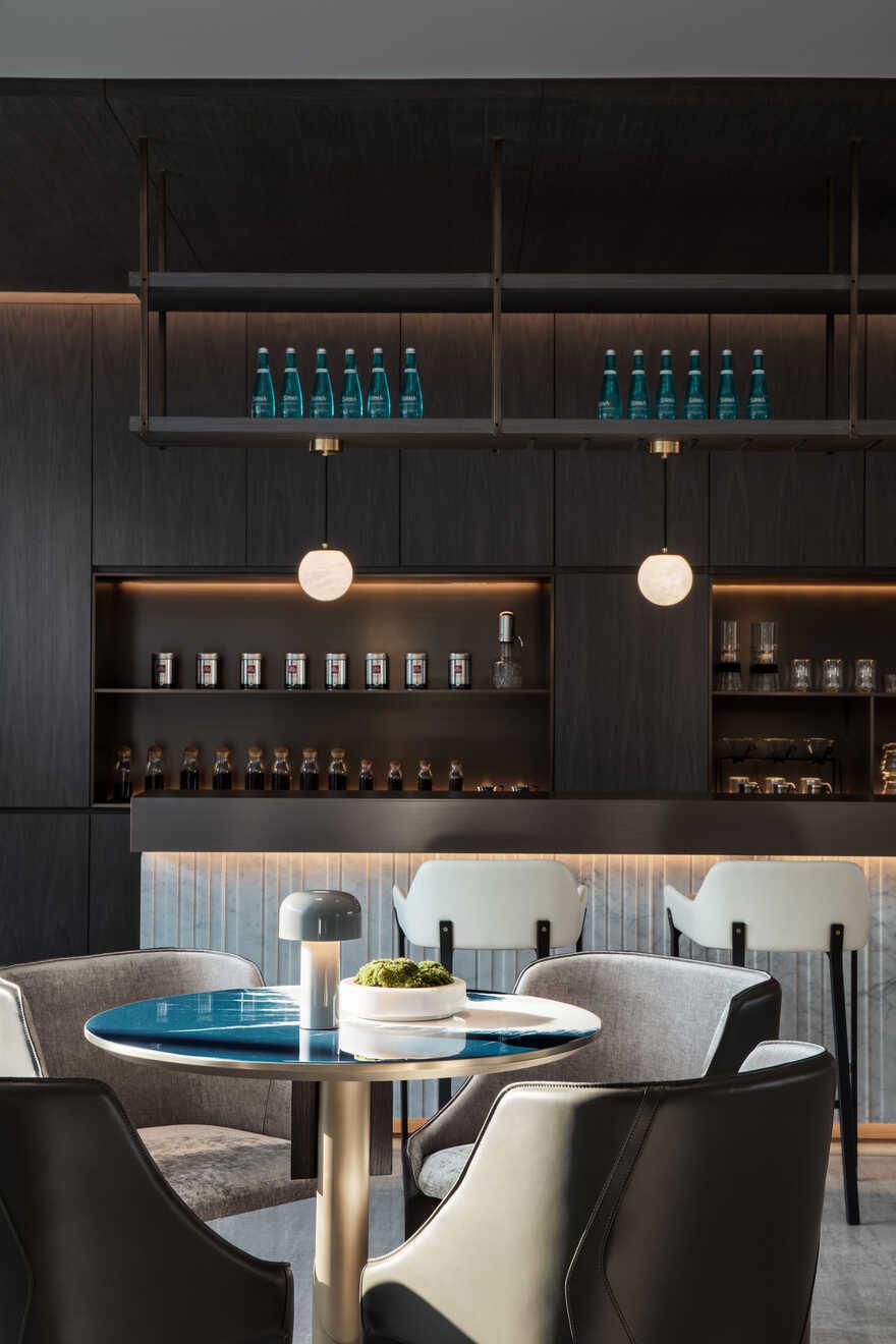 restaurant, Lee Wei Min Architects