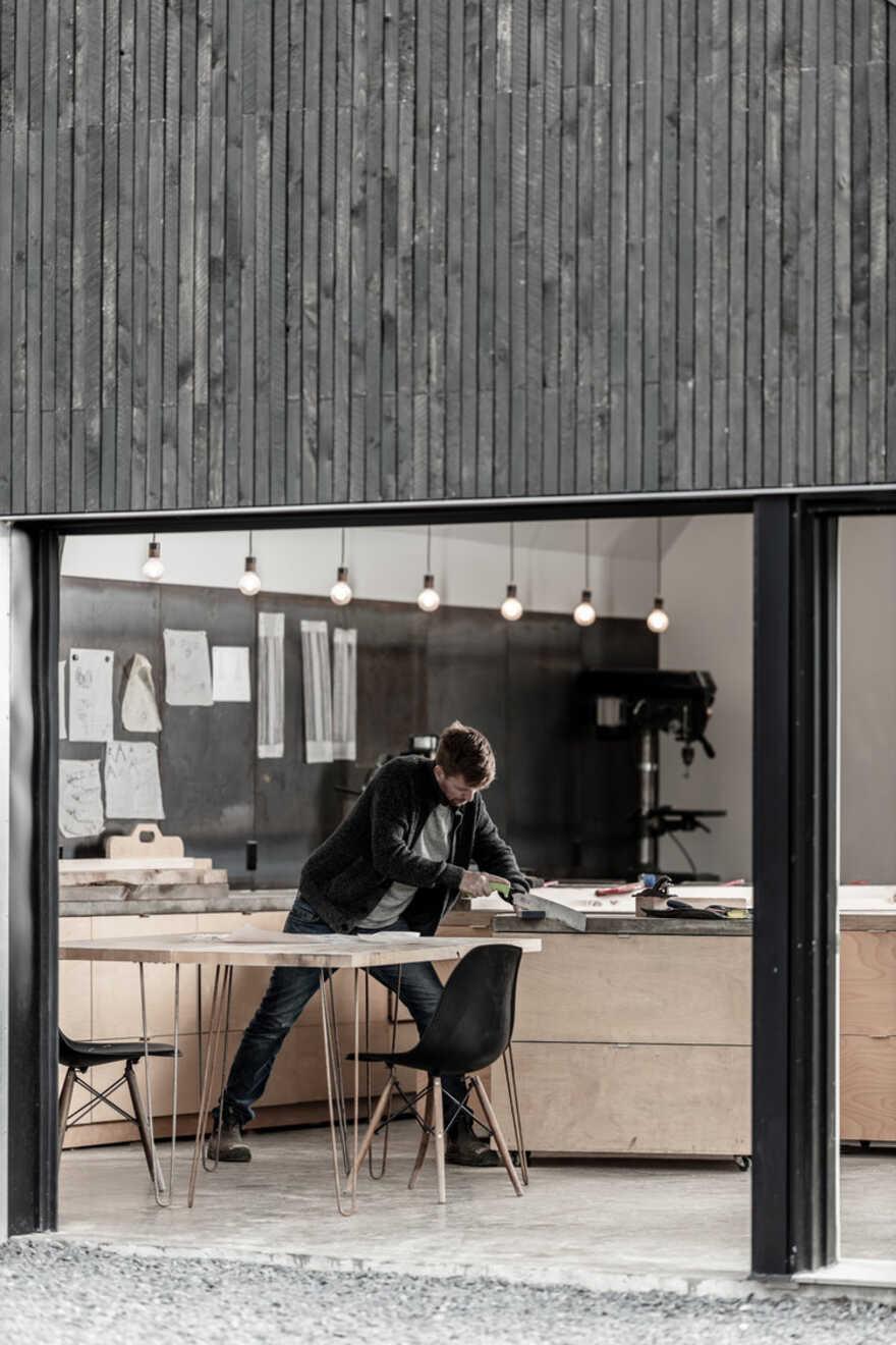 workshop, atelier / Peter Braithwaite Studio