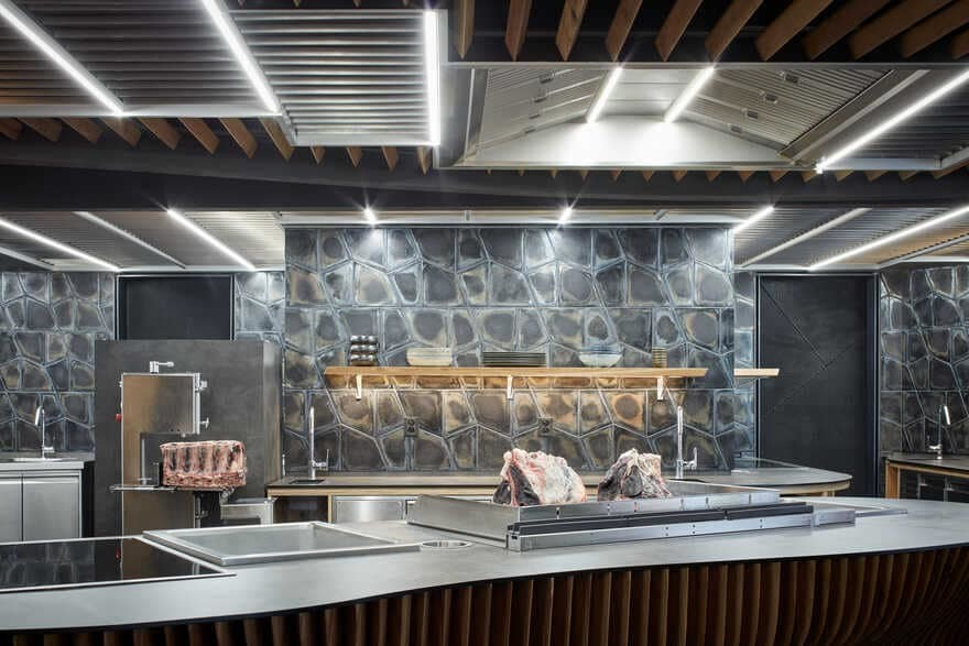 Steak Restaurant Housed in a Former Car Repair Shop, STK Restaurant