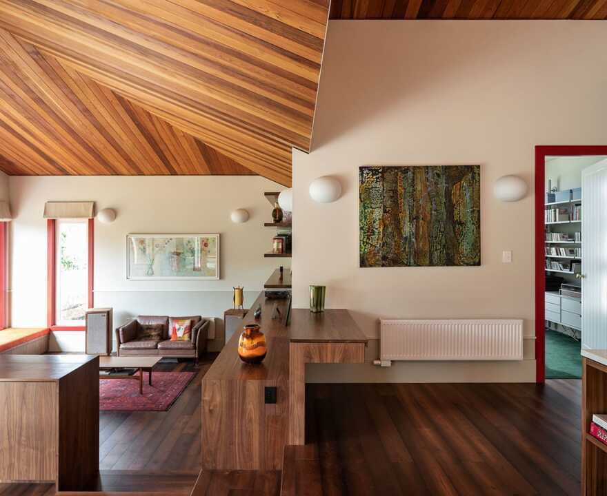 a Renovated Family-House in Auckland by Pac Studio