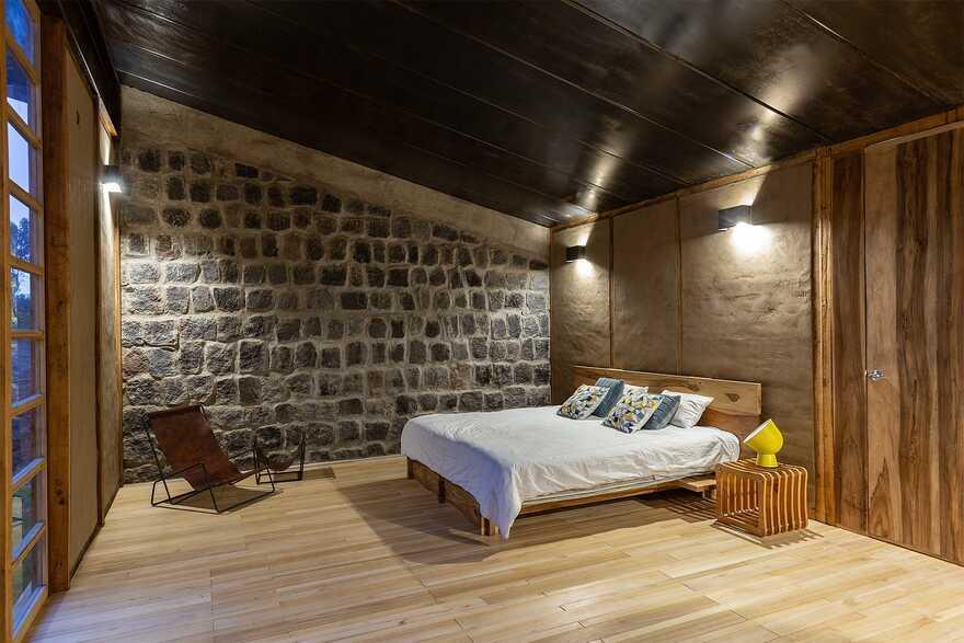 bedroom, Ecuador / Rama Estudio