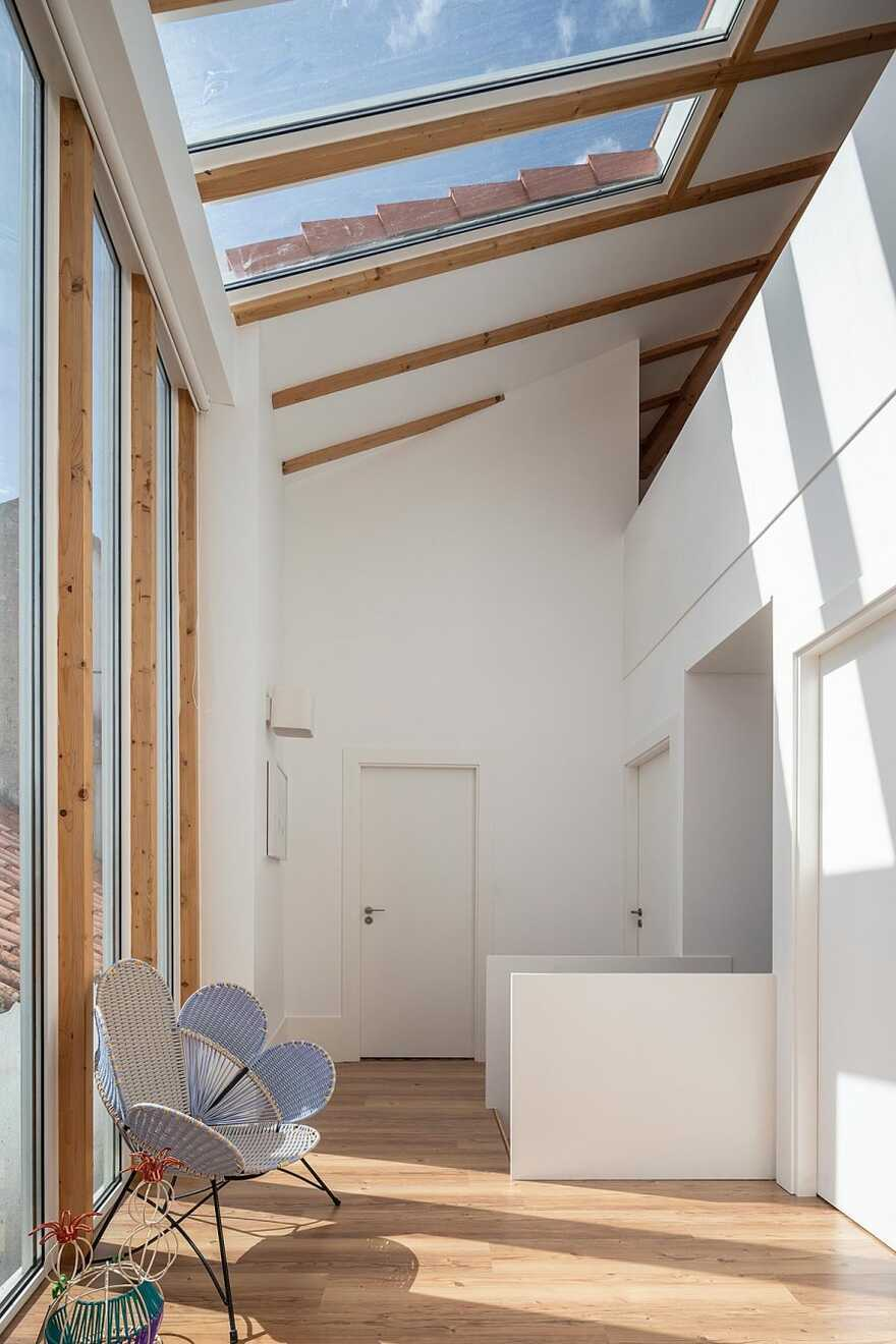Rehabilitation and Expansion of a House in the Historic Center of Leiria, Portugal