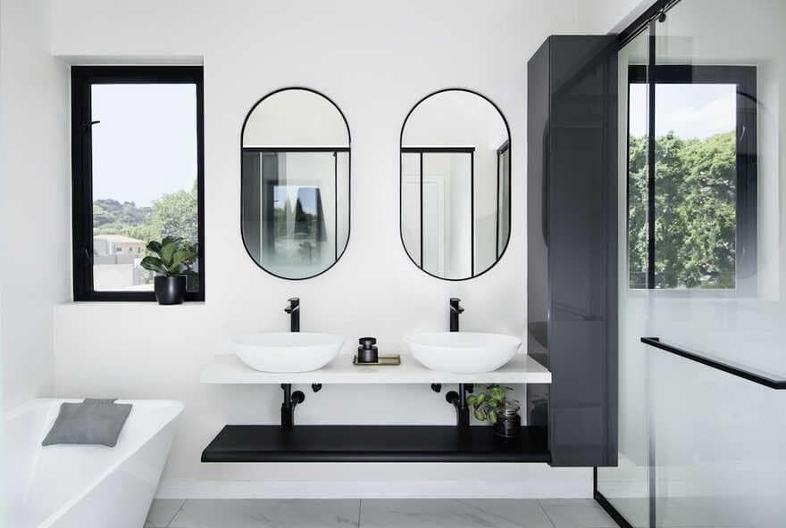 bathroom, Johannesburg / Daffonchio Architects
